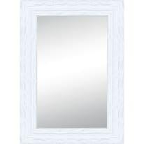 Specchio Teresa rettangolare bianco 80x120 cm