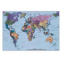 Foto murale KOMAR World map 188.0x270.0 cm