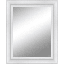 Specchio a parete rettangolare Venere bianco 92x132 cm