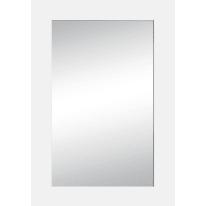 Specchio a parete rettangolare Wally bianco 87x117 cm