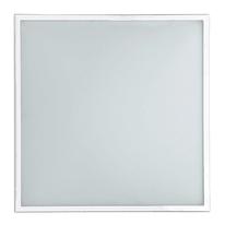Plafoniera Diana bianco, in vetro, 8x41 cm, LED integrato 18W IP20