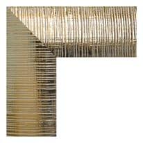 Specchio Sibilla rettangolare oro 40x125 cm