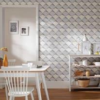 Carta da parati scaglia 3d beige prezzi e offerte online for Parati 3d prezzi