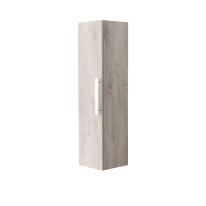 Colonna Adelaide 1 anta L 35 x P 30 x H 120 cm rovere chiaro legno ed effetto legno