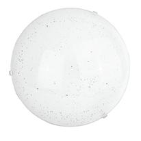 Plafoniera Scinty bianco, in vetro, diam. 40, LED integrato 18W IP20
