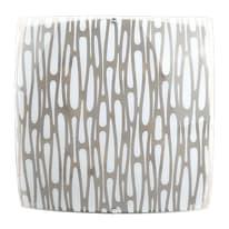 Plafoniera Muro bianco, in vetro, 10x50 cm, LED integrato 5W IP20