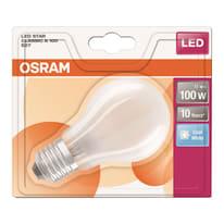 Lampadina LED E27 standard bianco freddo 11W = 1521LM (equiv 100W) 320° OSRAM