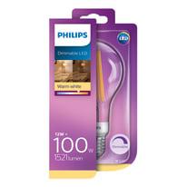 Lampadina LED E27 goccia bianco caldo 12W = 1521LM (equiv 100W) 360° PHILIPS