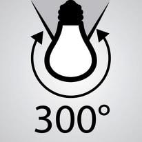 Lampadina LED E27 tubo bianco naturale 14W = 1521LM (equiv 100W) 300° LEXMAN