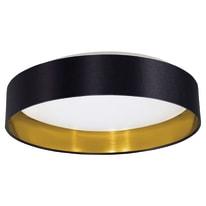 Plafoniera Maserlo nero e oro, in metallo, diam. 40.5, LED integrato 16W 1500LM IP20 EGLO