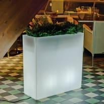 Lampada da esterno Vaso illuminato luce calda H80cm, in plastica, LED integrato 650LM NEWGARDEN