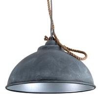 Lampadario Colly grigio, in metallo, diam. 39 cm, E27 MAX42W IP20