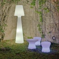 Lampada da esterno Lola H200cm, in plastica, luce bianco, G13 NEWGARDEN