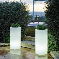 Lampada da esterno Palma H70cm, in plastica, luce bianco, E27 IP65 NEWGARDEN