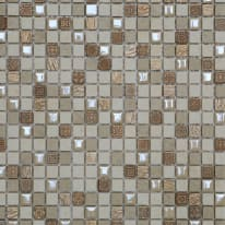 Mosaico Fusion H 30 x L 30 cm bianco