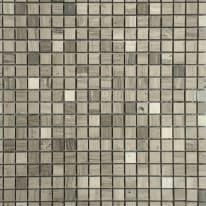 Mosaico Mineral H 30 x L 30 cm grigio argento