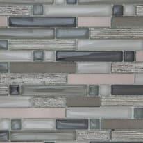 Mosaico Bronze H 30 x L 31 cm grigio, beige
