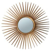 Specchio Sinne tondo grigio 30x30 cm