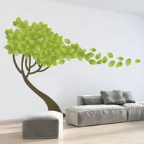 Sticker Tree wind 9x106 cm