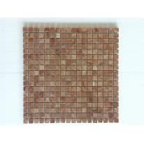 Mosaico H 30 x L 30 cm rosso