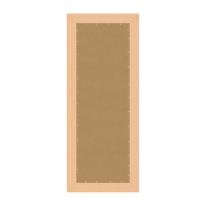Specchio Sibilla rettangolare bianco 40x125 cm