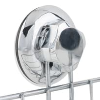 Mensola per bagno Bestlock L 28.5 cm grigio