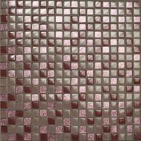 Mosaico Glitter H 30 x L 30 cm viola