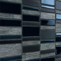 Mosaico Summer H 30 x L 30 cm nero, antracite