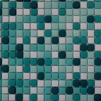 Mosaico Anemone H 30 x L 30 cm azzurro, verde