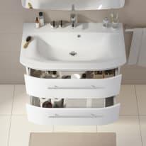 Mobile bagno Contea bianco L 85.6 cm