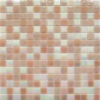Mosaico Reflex mix H 32.7 x L 32.7 cm rosa