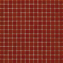 Mosaico Red way H 32.7 x L 32.7 cm rosso