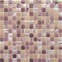Mosaico Patchwork H 32.7 x L 32.7 cm rosa