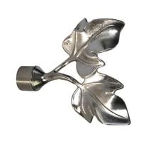 Kit bastone per tenda Edera in metallo Ø 19 mm argento