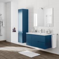 Mobile bagno Gola blu L 105 cm