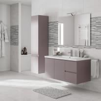 Mobile bagno Gola grigio L 105 cm