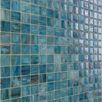 Mosaico Gold H 32.7 x L 32.7 cm blu