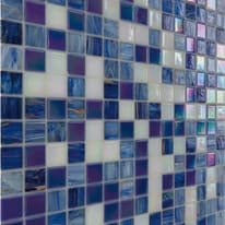 Mosaico Elegant H 32.7 x L 32.7 cm blu