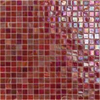 Mosaico Iridium red H 30 x L 30 cm rosso