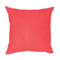 Cuscino Suede rosso 50x50 cm