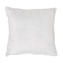 Cuscino Suedine bianco 50x50 cm