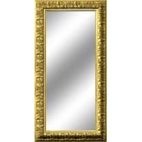 Specchio Barocco rettangolare oro 80x120 cm
