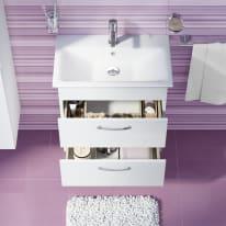 Mobile bagno Giò bianco L 65 cm