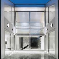 Plafoniera Selene LED integrato in alluminio, bianco, 30W 2800LM IP54