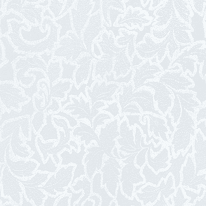 Pellicola adesiva per vetro Foglie bianco 0.45x2 m