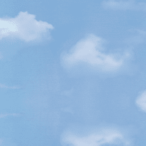 Pellicola adesiva per vetro Cielo blu 0.45x2 m