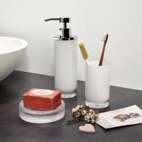 Dispenser sapone Glossy bianco