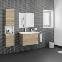 Mobile bagno Style acero L 84 cm