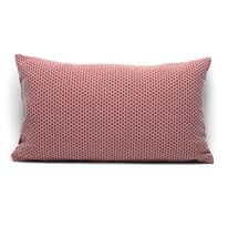 Fodera per cuscino Nido d'ape bordeaux 50x30 cm