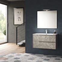 Mobile bagno Decor grigio L 86 cm